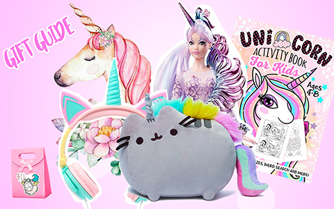 Gift guide 2018 for Unicorns fans