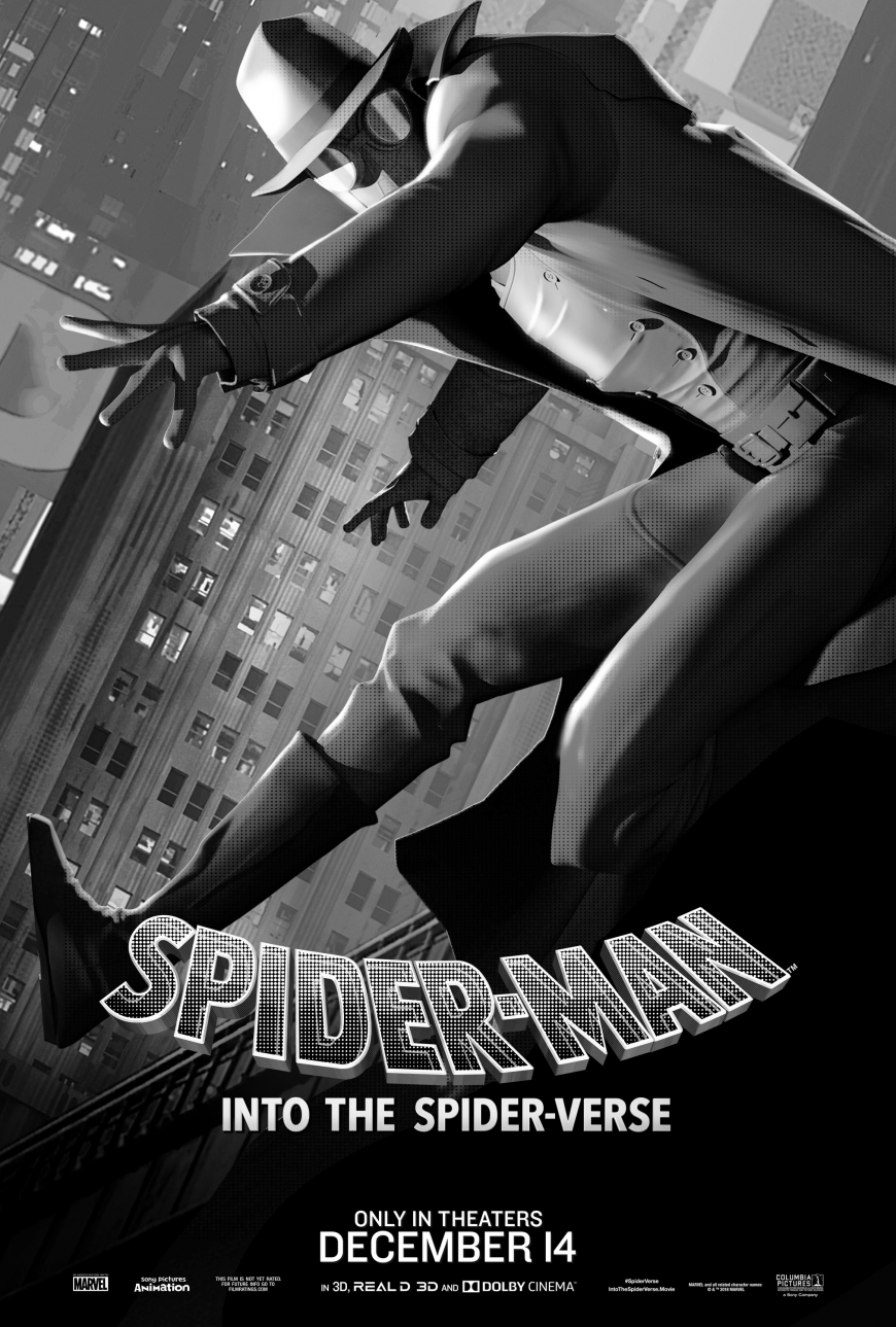 Spider-Man: Into the Spider-Verse Spider-Man Noir poster