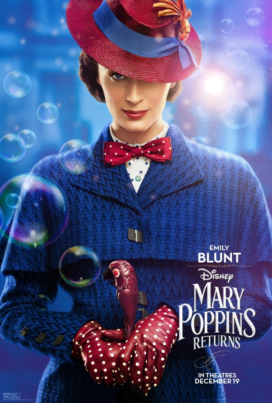 Mary Poppins Returns character posters