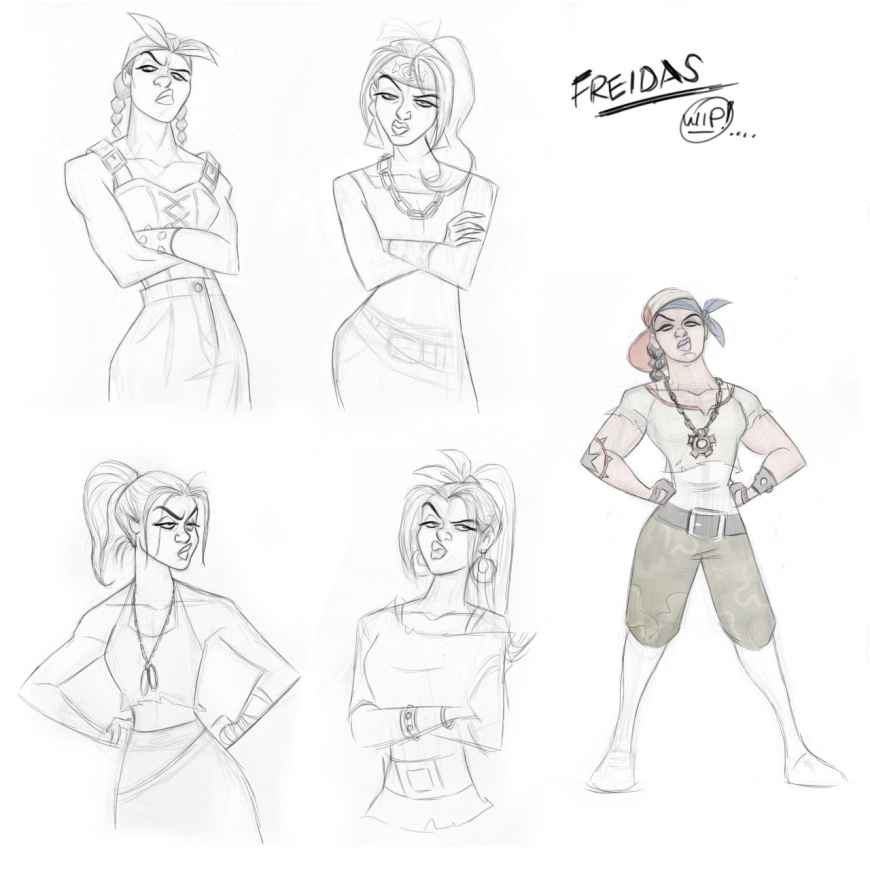 Ralph Breaks The Internet Shank old concept designs