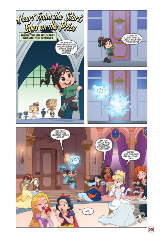 Disney Princesses Ralph Breakes the Internet new pictures from comics
