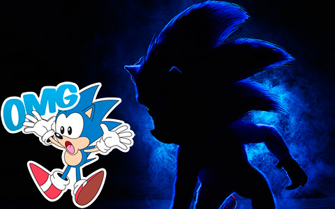 First poster of the Sonic The Hedgehog Movie caused a mixed reaction in the Internet