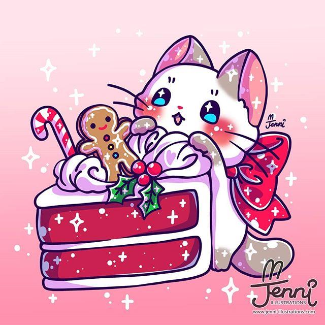 Cutest Art Of Sparkling Kittens From Jennillustrations Youloveit Com