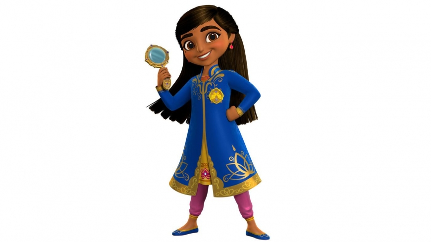 """Mira, Royal Detective"" - Disney's new Indian-inspired animated series"