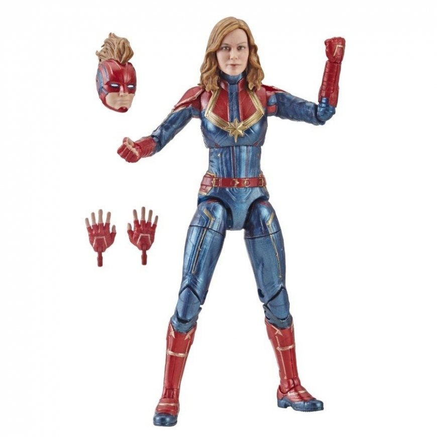 Captain Marvel - Marvel Legends figures