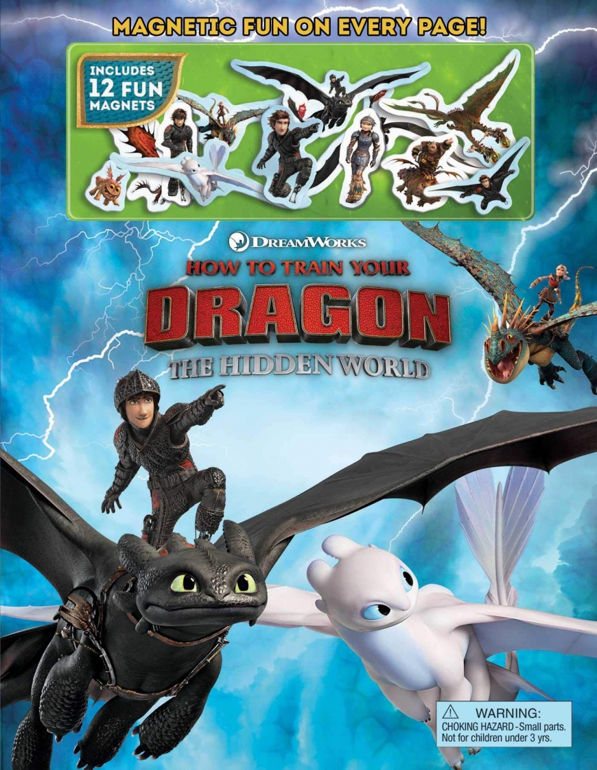 DreamWorks How to Train Your Dragon: The Hidden World Magnetic Fun