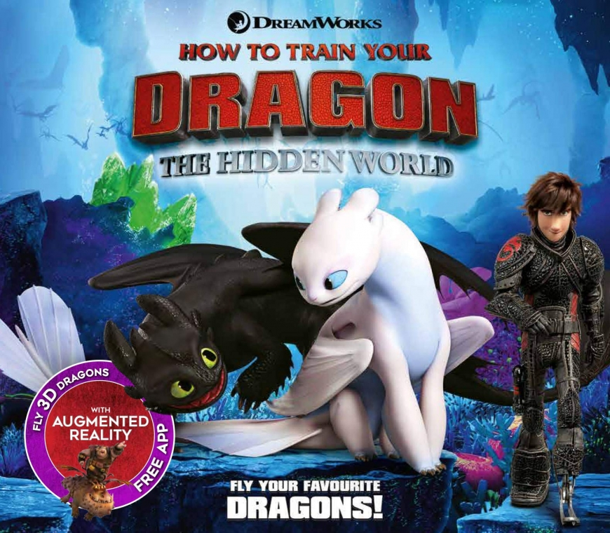 Fly your favorite DreamWorks dragons off the page and into your world—thanks to Augmented Reality