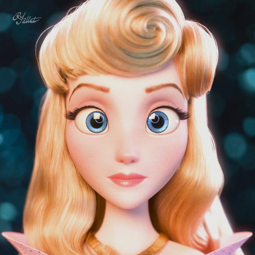 Stunning pictures of princess Aurora from Wreck it Ralph Breakes the Internet