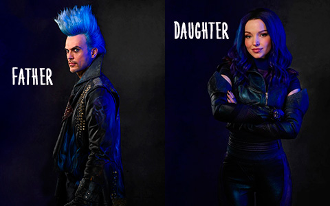 First look at the Hades in Disney Descendants 3 and new photos of main characters