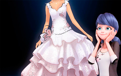 Miraculous Ladybug - Who could it be? Or stunning Marinette's dress