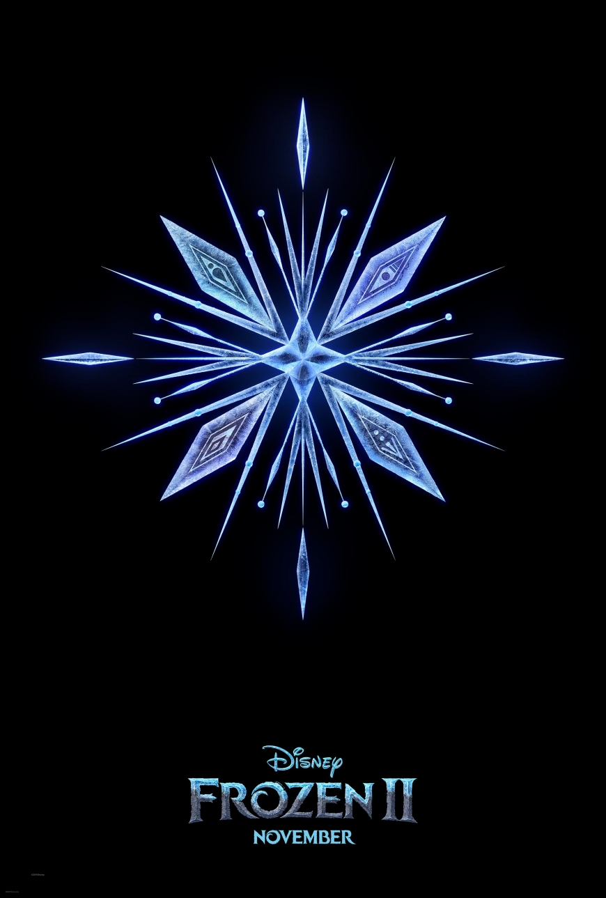 HD poster Disney Frozen 2 movie