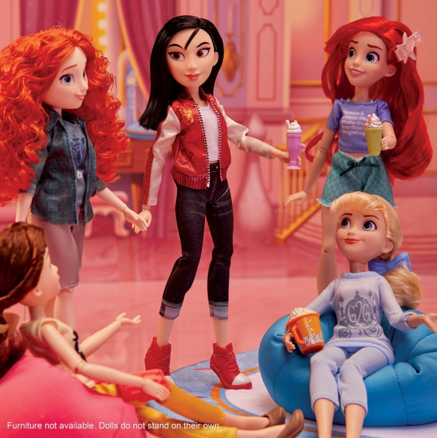 Ralph Breaks The Internet Ultimate Fashion Doll Pack