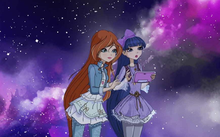 Winx Club 8 season Bloom and Musa