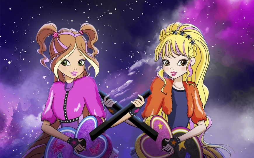Winx Club 8 season Flora and Stella concert