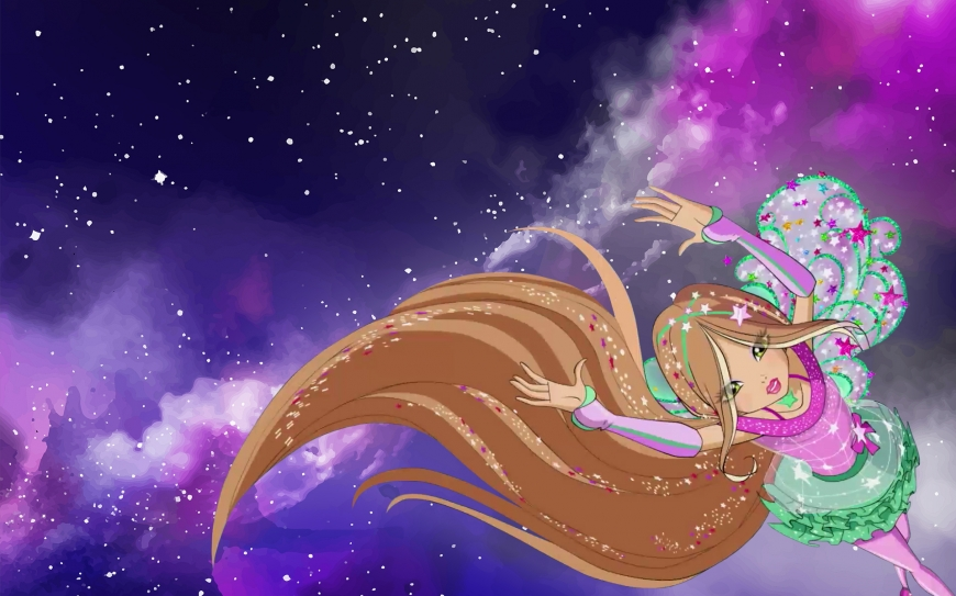 Winx Club 8 season Cosmix Flora