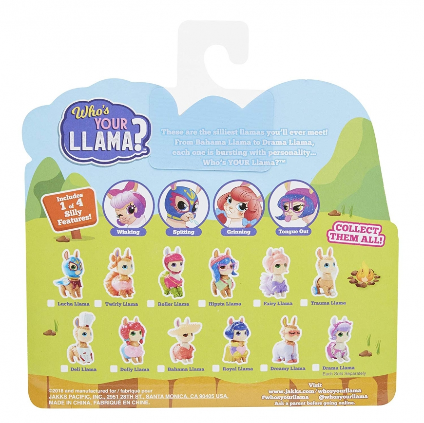 Who's Your Llama new collectible toys