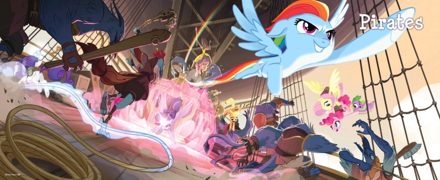 My little Pony the Movie concept art