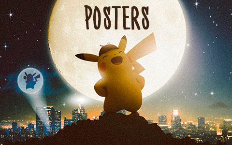 Pokemon Detective Pikachu lots of new posters!