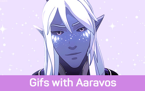 Animated gifs with Aaravos from the Dragon Prince