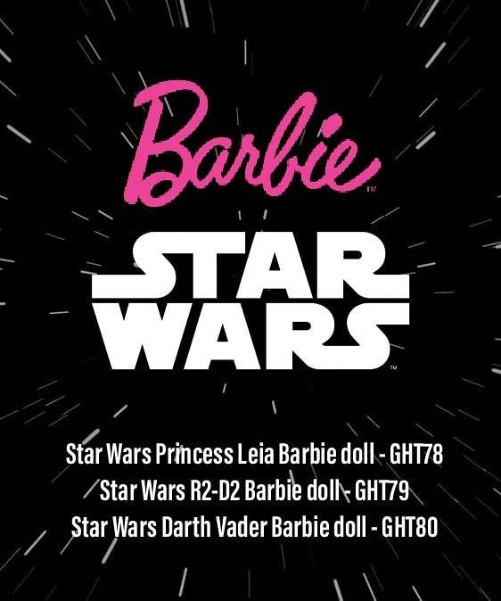 Star Wars Barbie dolls 2019