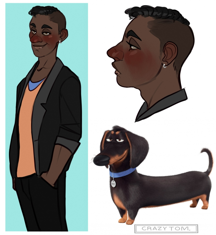 The Secret Life of Pets humanization