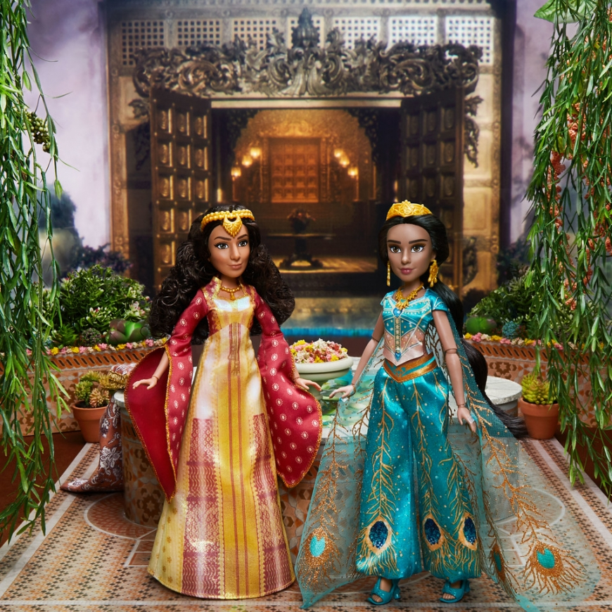 Disney Aladdin movie dolls from Hasbro - Agrabah Collection set