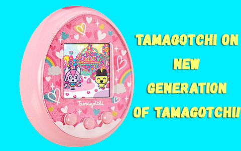 New generation of Tamagochi toys - Tamagotchi On will be released soon. And you can already pre-order it!
