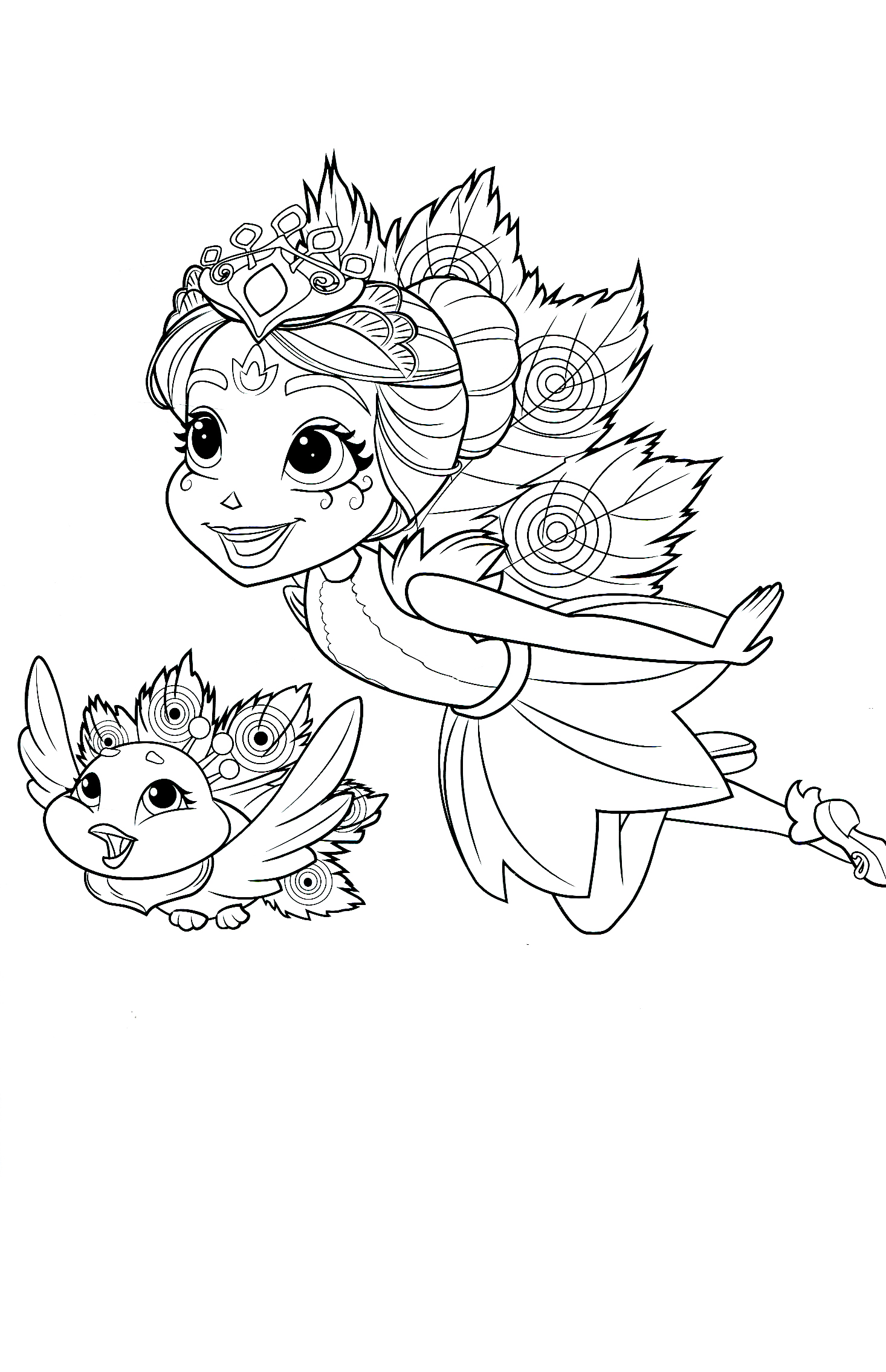 Enchantimals new coloring pages - YouLoveIt.com
