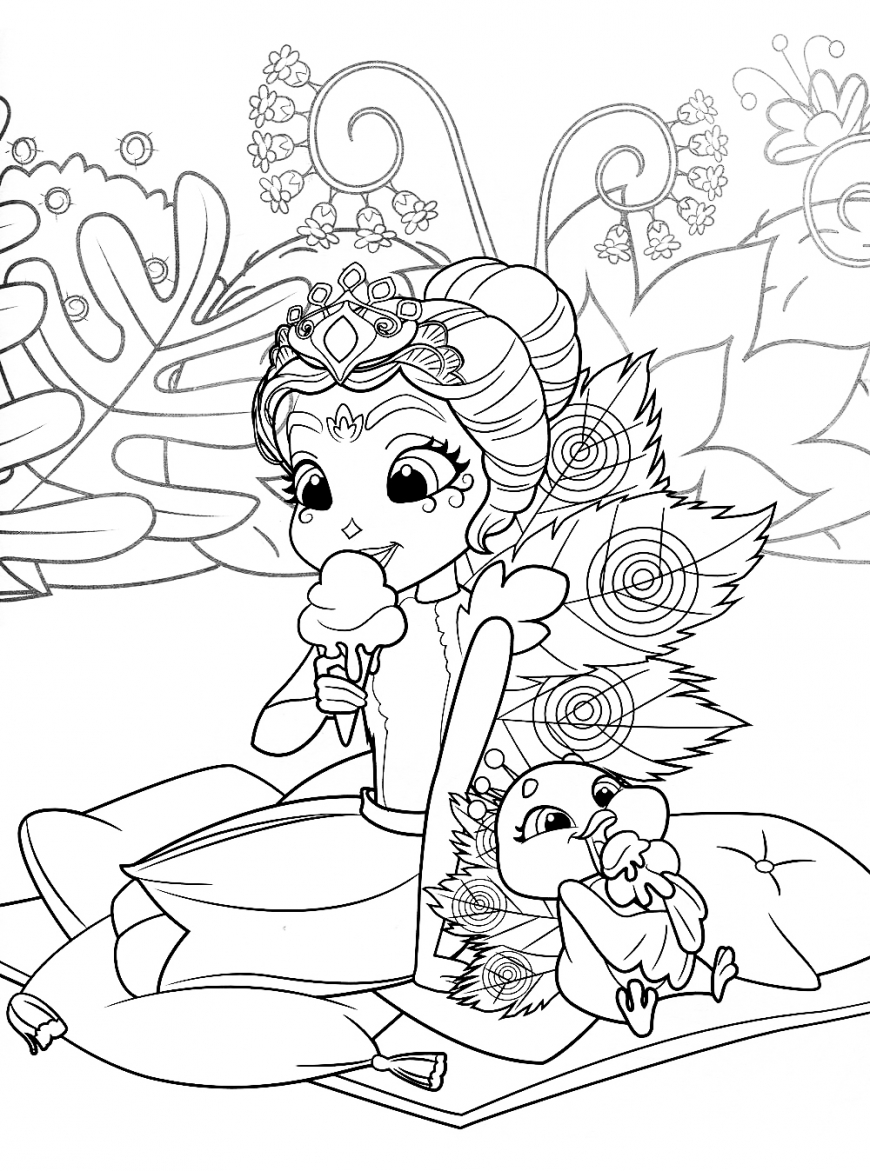 Enchantimals new free printable coloring pages