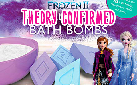 Theory of the 4 elements  in Frozen 2 is confirmed
