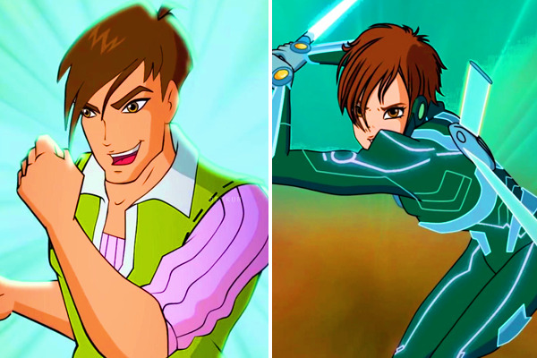 Winx Club specialists then and now in season 8