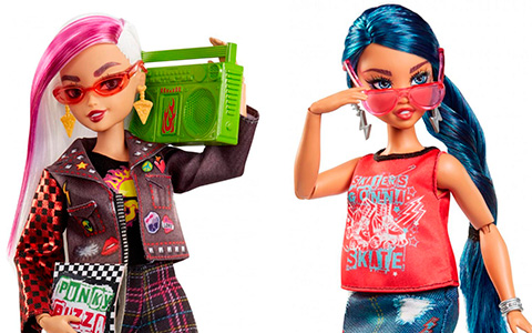 Wild Hearts Crew  8-pack and 4-pack fashion dolls