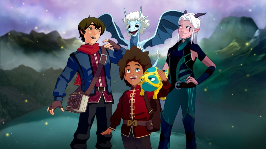 Help The Dragon Prince get more than 3 seasons - fill form on Netflix