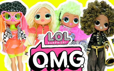Big L.O.L. Surprise! O.M.G. dolls are now available for purchase!