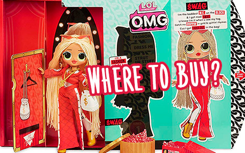 Where to buy new LOL Surprise OMG fashion dolls? We know the answer, and we also have high-quality photos of new dolls.