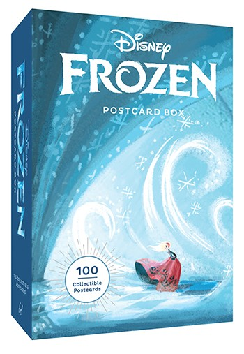 Disney Frozen Postcard Box with 100 cards inside! Concept art and illustrations from Frozen, Frozen Fever and Olaf's Frozen Adventure