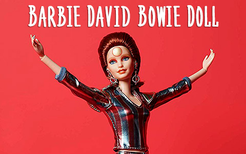 New collector limited edition Barbie David Bowie Doll