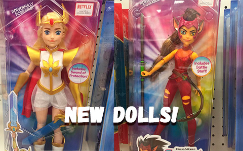 First pictures of new She-Ra and the Princesses of Power dolls from Mattel