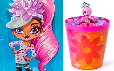 Awesome Bloss'ems new collectible surprise dolls from Spin Master