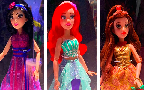 New Hasbro The Disney Style Series Disney Princess dolls in beautiful dresses