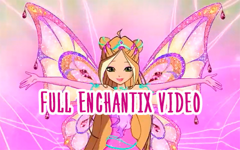Full video version of Enchantix transformation from Winx Club season 8