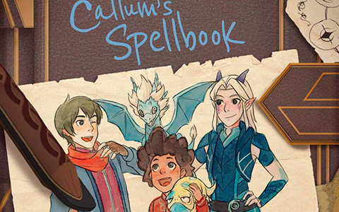 You can soon get Callum's Spellbook from The Dragon Prince series in the book format