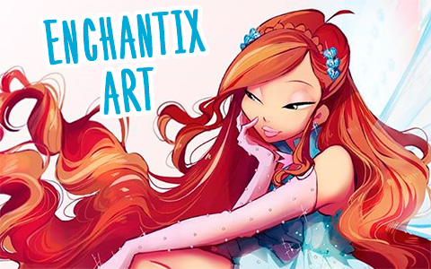 The beautiful art of Winx Club Enchantix transformation in lots of pictures