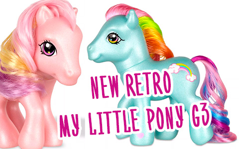 Hasbro releases My Little Pony Retro Classic Generation 3 toys!