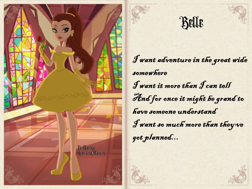 Belle in Ever After High