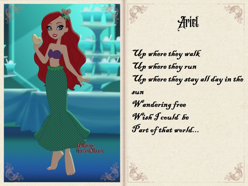 Ariel in Ever After High