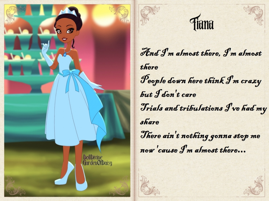 Tiana in Ever After High
