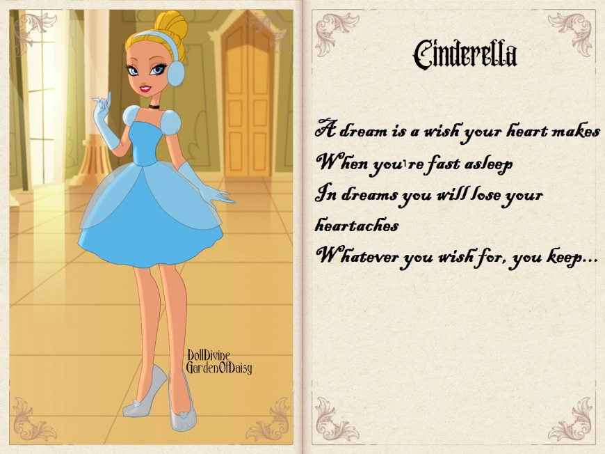 Cinderella in Ever After High