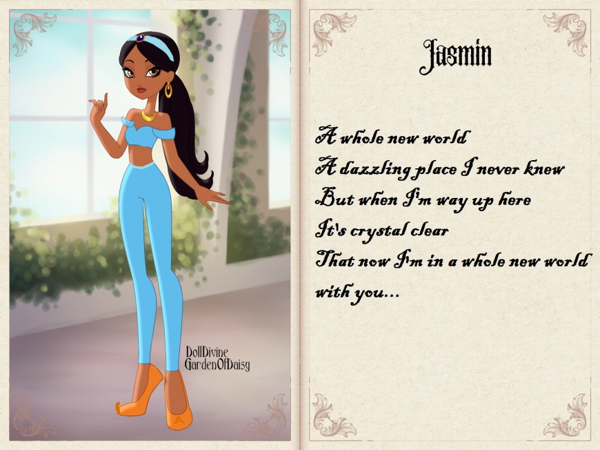 Jasmine in Ever After High