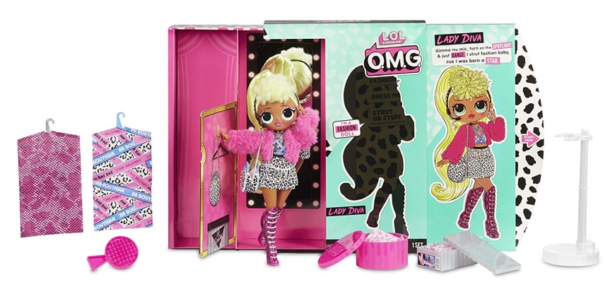 LOL Surprise OMG Lady Diva Fashion Doll buy online